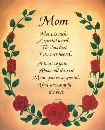 Greet Card Mothers Day Poems