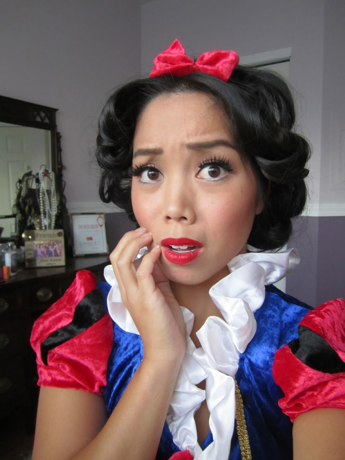Snow white hair tutorial drugstore its judy time makeup this baditri Choice Image