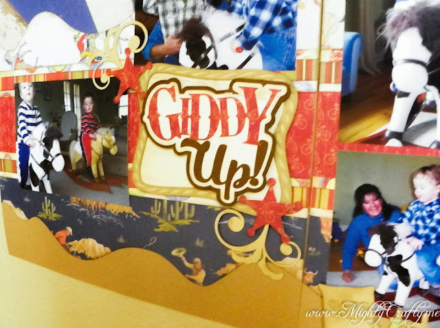 Giddy Up with Miss Kate Cuttables -- www.MightyCrafty.me