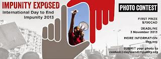 مسابقة الصور لليوم العالمي لانهاء الافلات من العقاب
