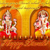 Lakshmi & Ganesh Wallpapers: Diwali Special Wishes Images
