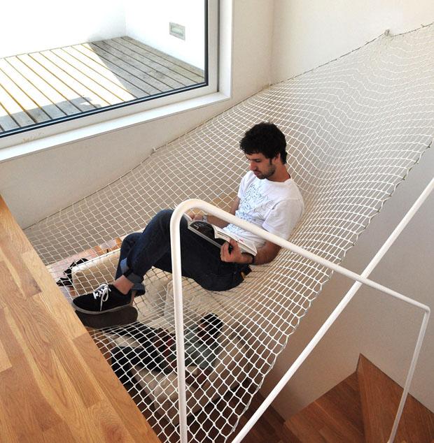 OODA,227 flat,reforma,piso,Oporto,duplex,hamaca,proyecto,redesign,apartment,porto,portugal,wood,hammock