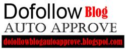 Dofollow Blog Auto Approve