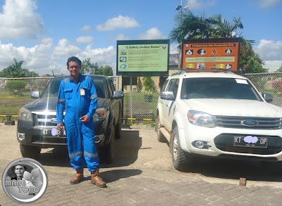 Kerja di Satelit 4, Proyek PT. Vico Indonesia