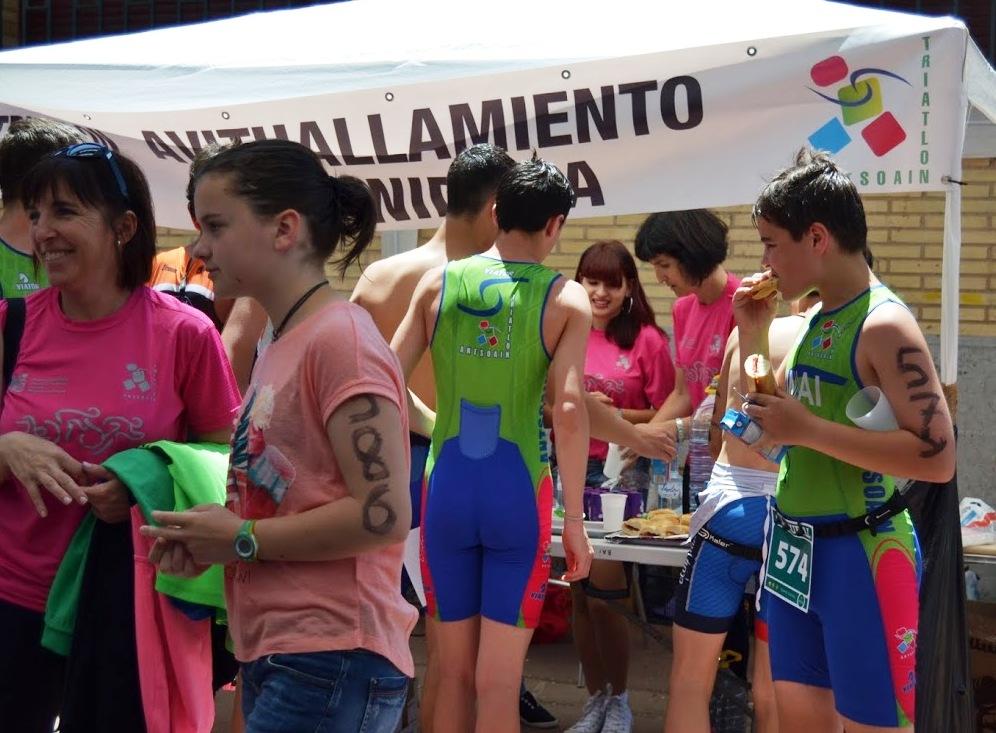 Triatl n antsoain junio 2015 for Piscinas de ansoain