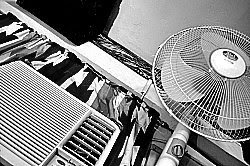 aircon with timer for aircon to fan operation