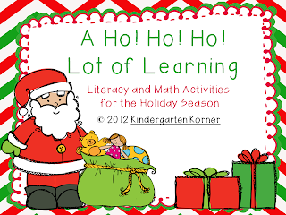 http://www.teacherspayteachers.com/Product/A-Ho-Ho-Ho-Lot-of-Learning-Christmas-Literacy-and-Math-Activities-427135