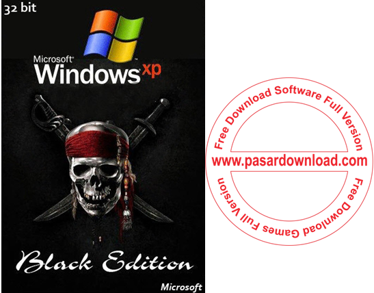 Free Download Windows XP Professional SP3 x86 Black Edition 2014