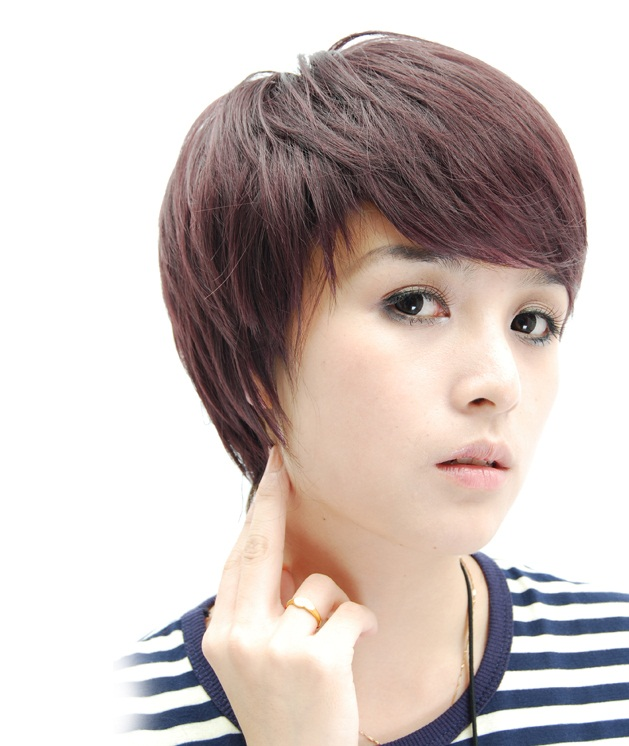 Hairstyles For Short Hair Oval Face : short hairstyles - short haircuts