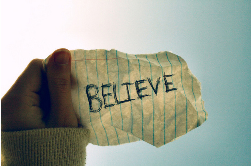 Bountiful Thoughts: i believe...