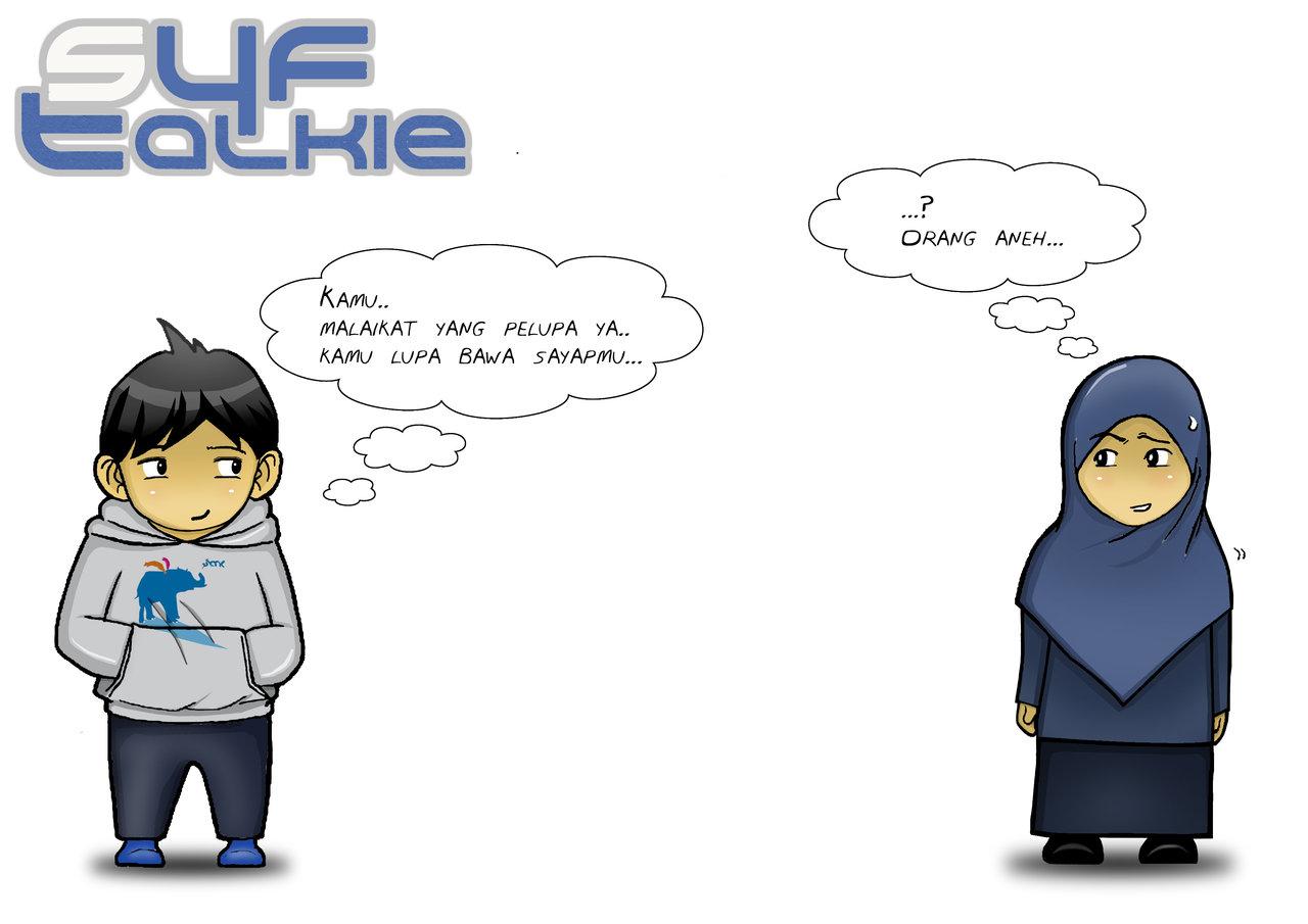 manga muslim and muslimah (wallpaper)