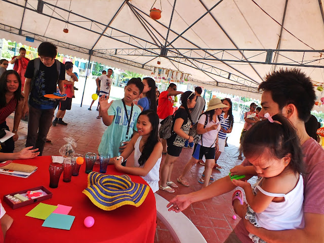 Shoot-the-Ball Activity at Tobacco Cessation Booth