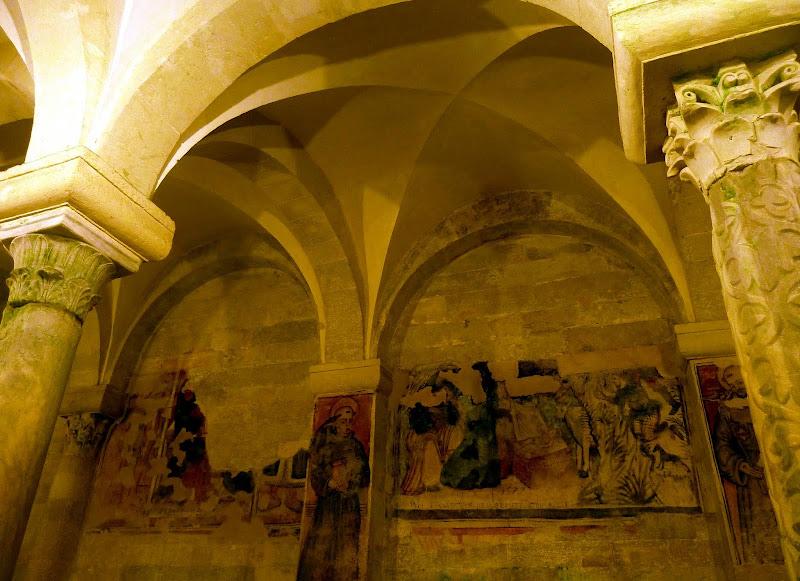 Fresko in der Krypta der Kathedrale Santa Maria Annunziata von Otranto