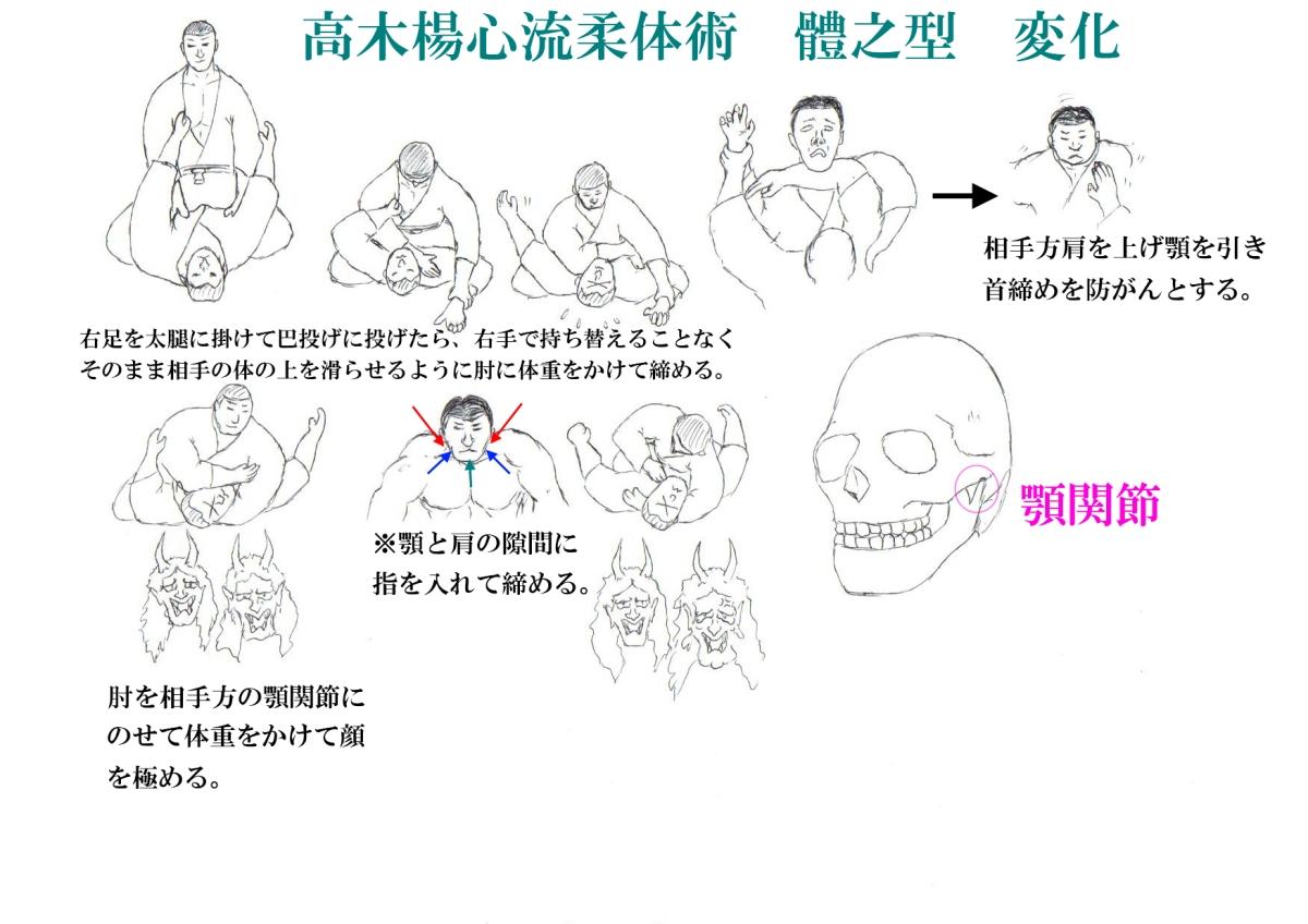 Takagi Yoshin Ryu: Tai no Kata...