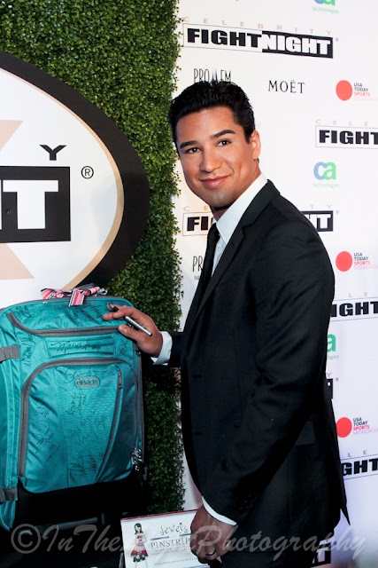 Celebrity Fight Night 2013 Red Carpet Mario Lopez