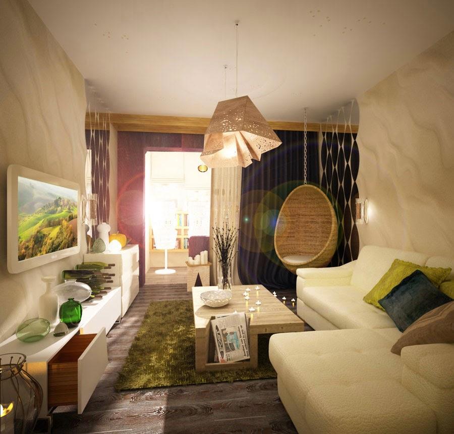 Como decorar ambientes pequenos sem gastar muito blog da for Como decorar ambientes pequenos