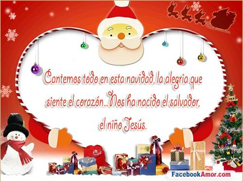 postales con frases navideñas