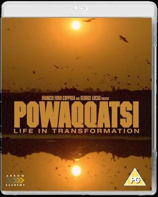 Powaqqatsi Blu-ray cover