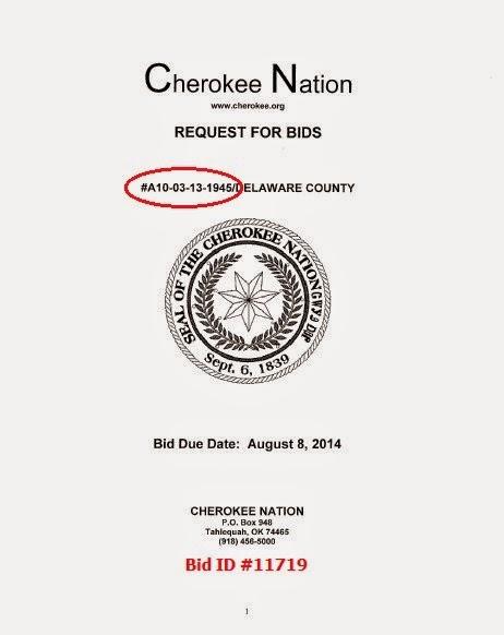 http://www.cherokee.org/procurements/archiveprocurements/archiveprocurementdetails.aspx?BidID=11719