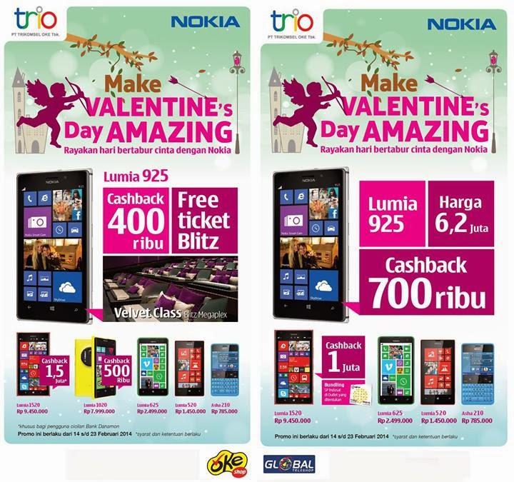 Nokia Lumia 925 Harga spesial Rp 5.500.000