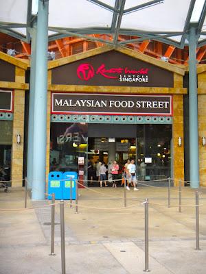 Malaysian Food Street at Resorts World Sentosa Singapore