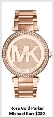 Sydney Fashion Hunter - Timeless Timepieces - Michael Kors Rose Gold Parker Watch