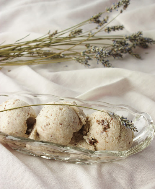 Lavender Dark Chip Ice Cream Recipe — Dishmaps