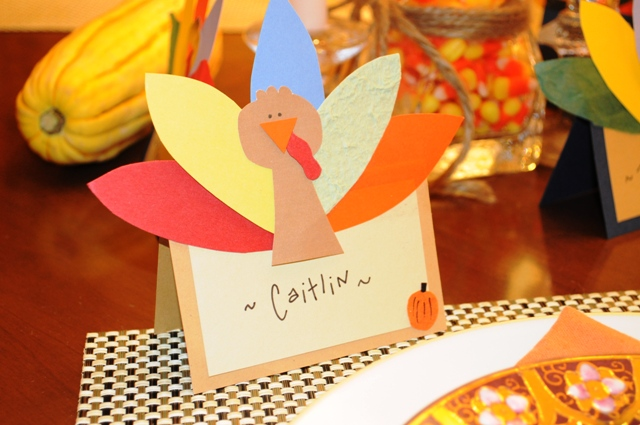 be different act normal paper turkey place cards