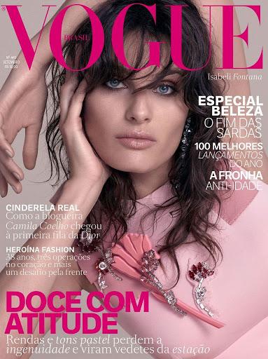 Isabeli Fontana Vogue Magazine Brazil September 2015 Photo Shoot