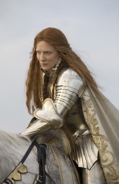 Queen Elizabeth,Elizabeth the golden age,knight armor