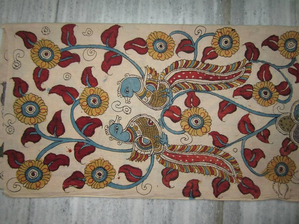 KALAMKARI - JAYANTH KALAMKARI DESIGNS: Pen Kalamkari patch set