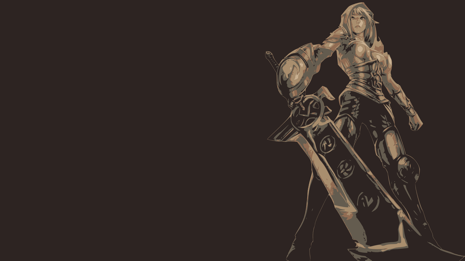 Riven League of Legends Wallpaper