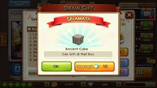 Cara Lengkap Mendapatkan Ancient Cube, Cara Mendapatkan Ancient Cube Get Rich, Blognya Alan.