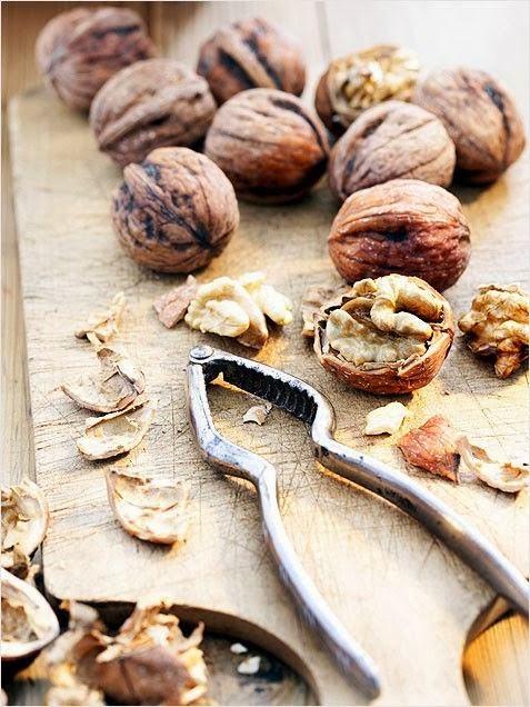 plum-cake alle noci / walnut plum-cake