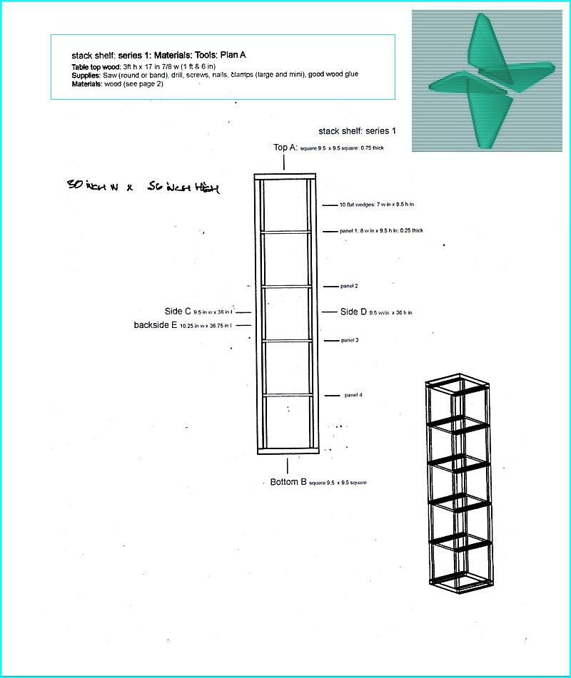 stack_shelf: design and construction