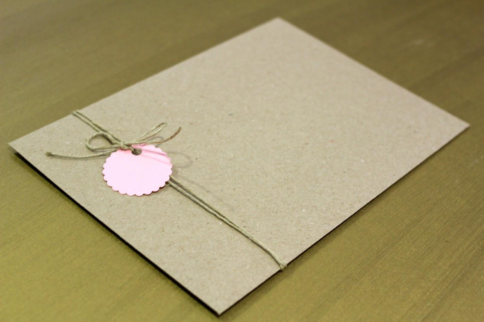 Ayuda sobres kraft manualidades foro - Como decorar un sobre ...