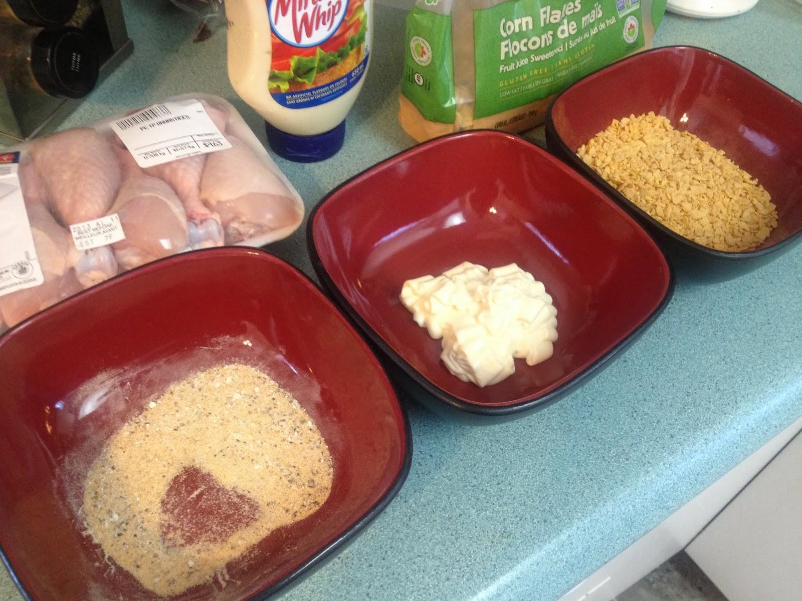 Gluten Free Robynne: Day 42: Cornflake Chicken