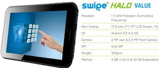 Swipe Halo Value price in India pic