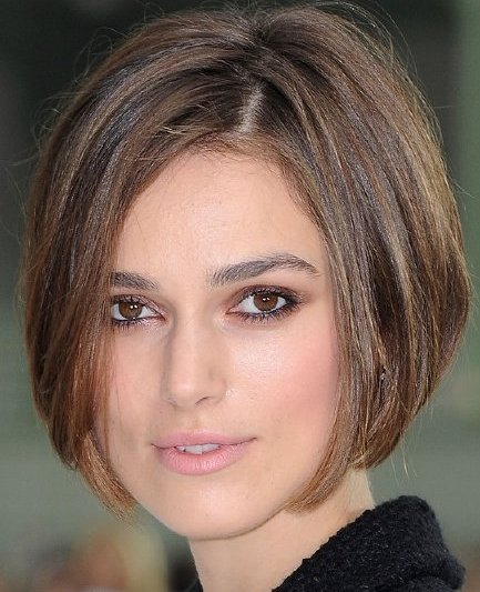 Short hairstyles for round faces | Celebrity Hairstyles 2013