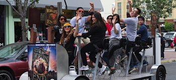 Pedal Pubs the Latest Gimmick in a World Testing the Limits