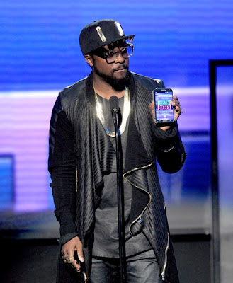 Will.i.am at AMA 2012