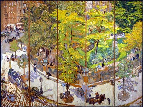 Place Vintimille Edouard Vuillard, 1911