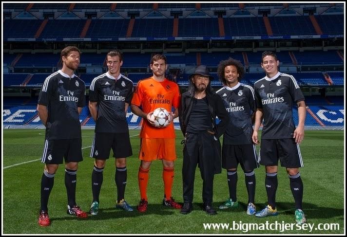 Black Third Orange GK Dragon Real Madrid Walpapper 2015