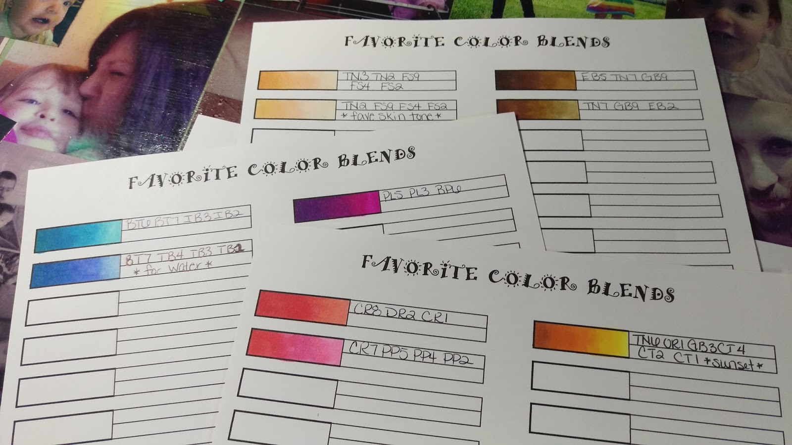 Get Your Free Color Blend Chart