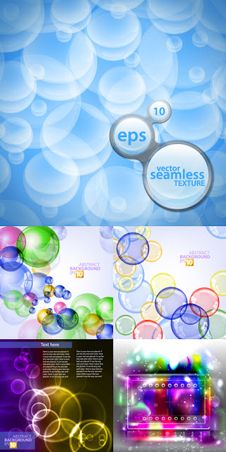 Colored Bubbles Backgrounds