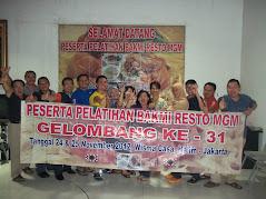 Pelatihan Bakmi MGM Gel-31 Tgl 24 & 16 November 2012
