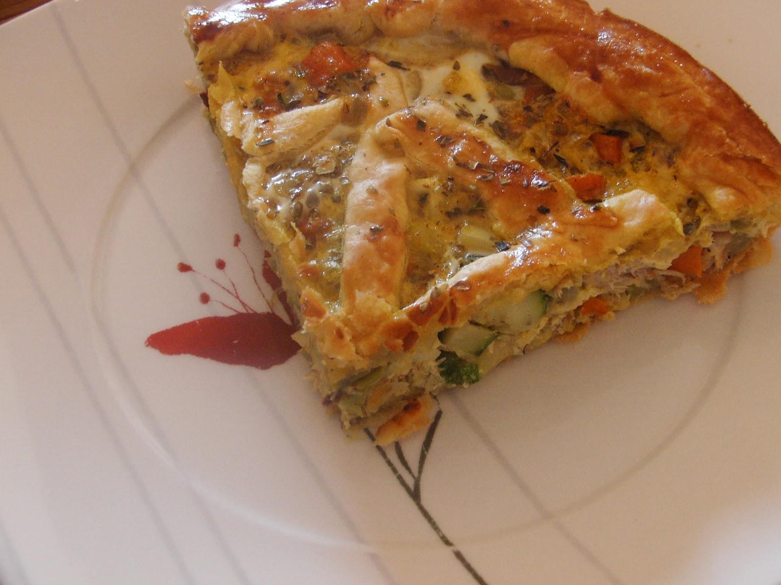 Cocinar sin sal tarta de verduras sin sal - Cocinar sin sal ...