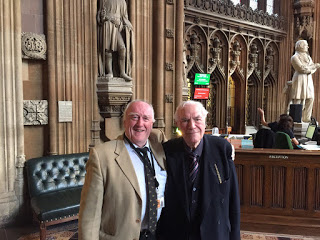 Gwynoro with Lord Elystan Morgan at the House of Commons