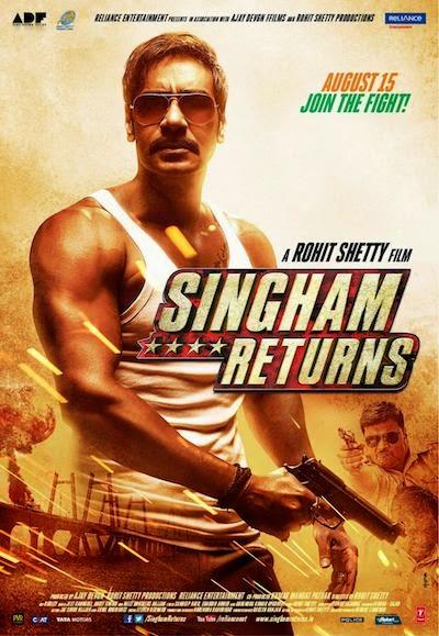 Singham Returns (2014) DVDScr 575MB
