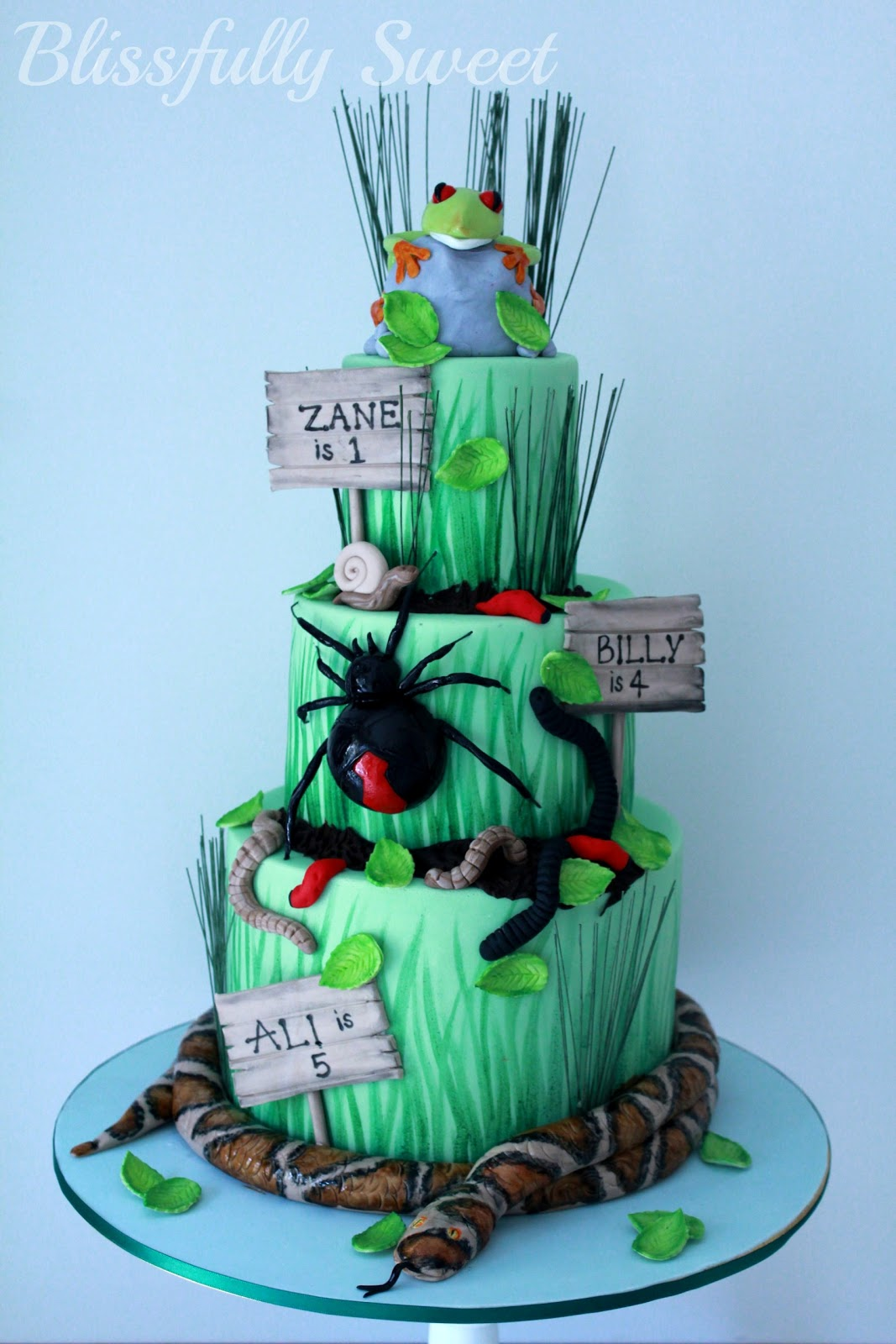 Reptile Cake Pops